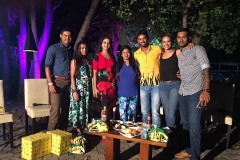 srilankan cricketers in a reality show - Copyrights Chamara Kapugedera